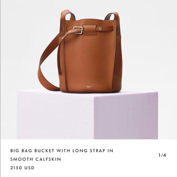 CÉLINE big bag bucket 9c7aa3af24f89